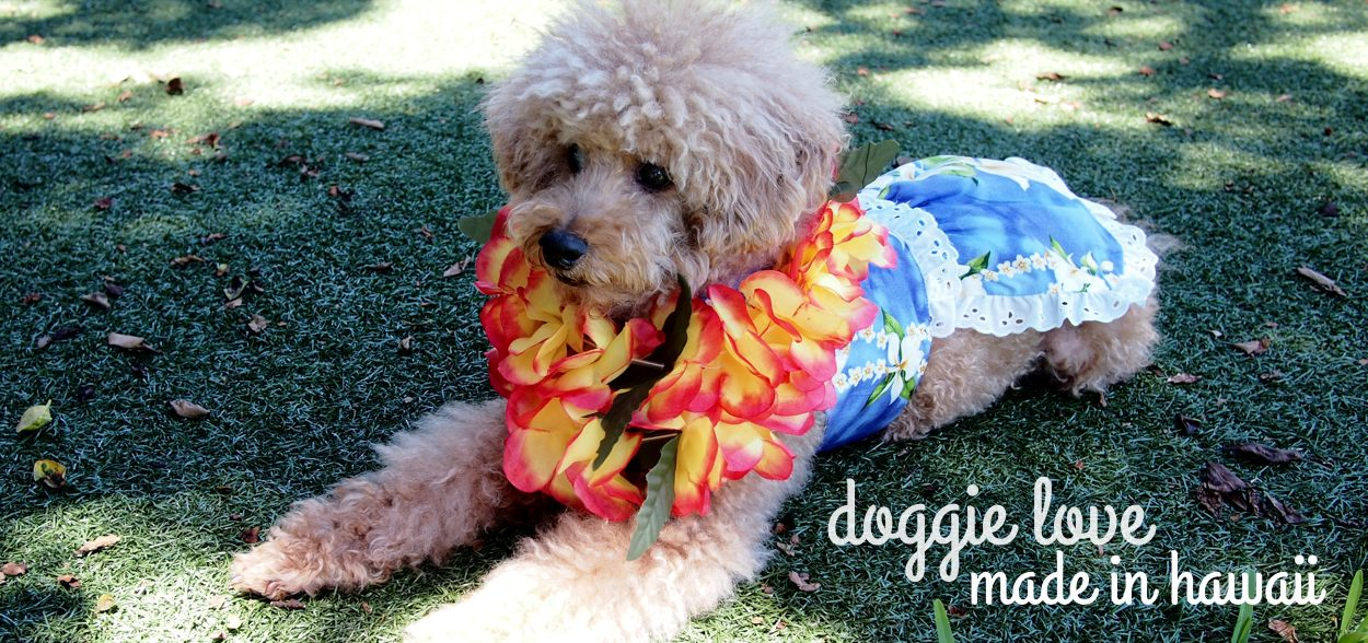 Hawaiian Dog Dress | Lavahut | Made in Hawaii