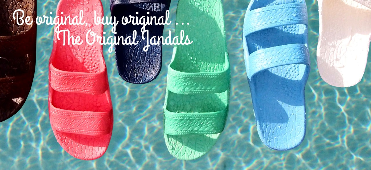 Pali Hawaii Sandals - Be Original, Buy Original, The Original Jandals