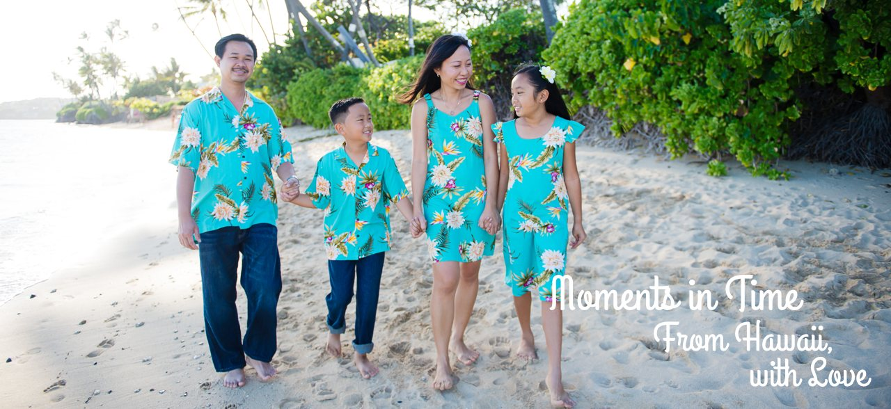Matching Hawaiian Clothing by Lavahut