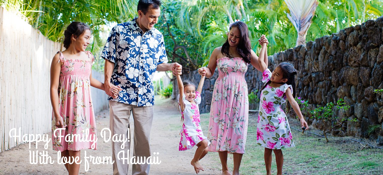 Family Shirts & Dresses - Hawaiian Clothing Style