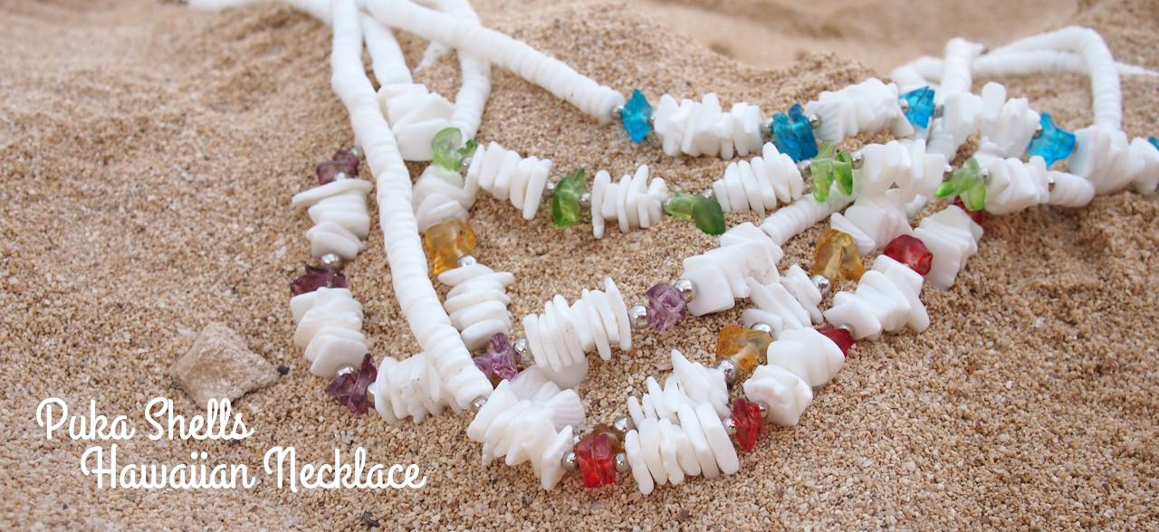 Lavahut - Hawaiian Puka Shell Necklaces