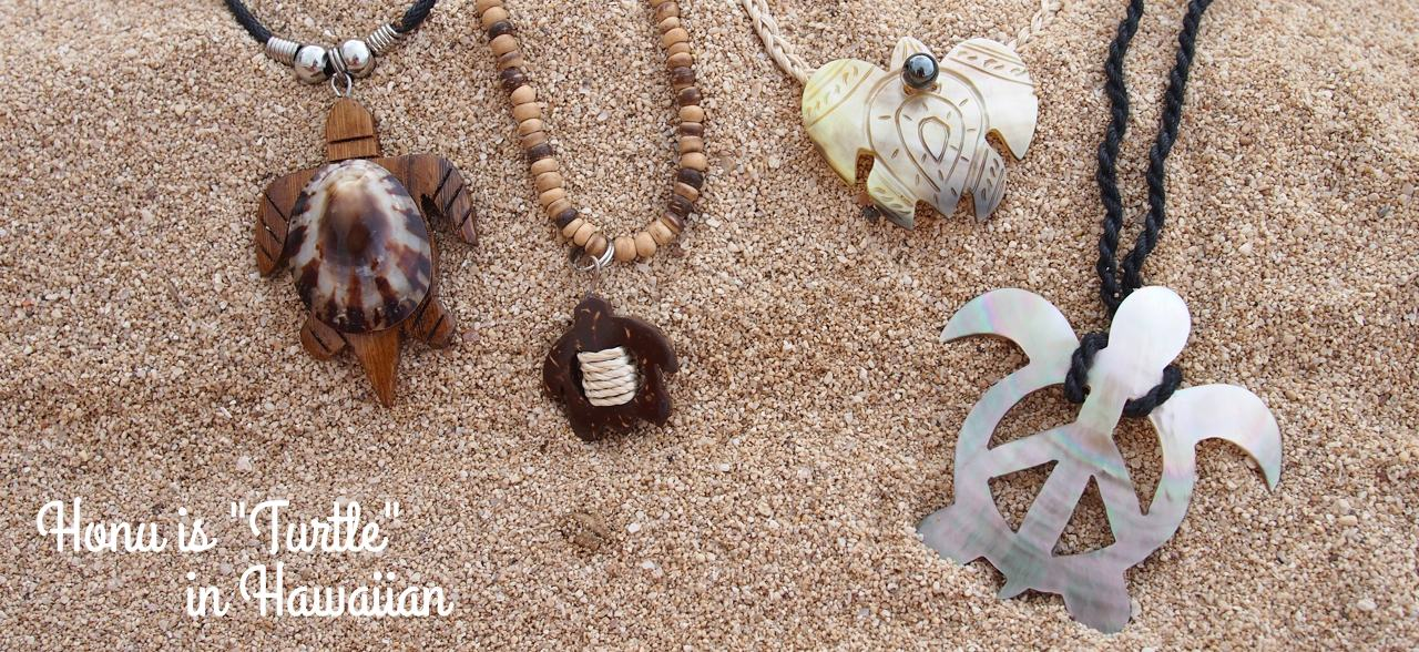Lavahut - Hawaiian Turtle Necklaces
