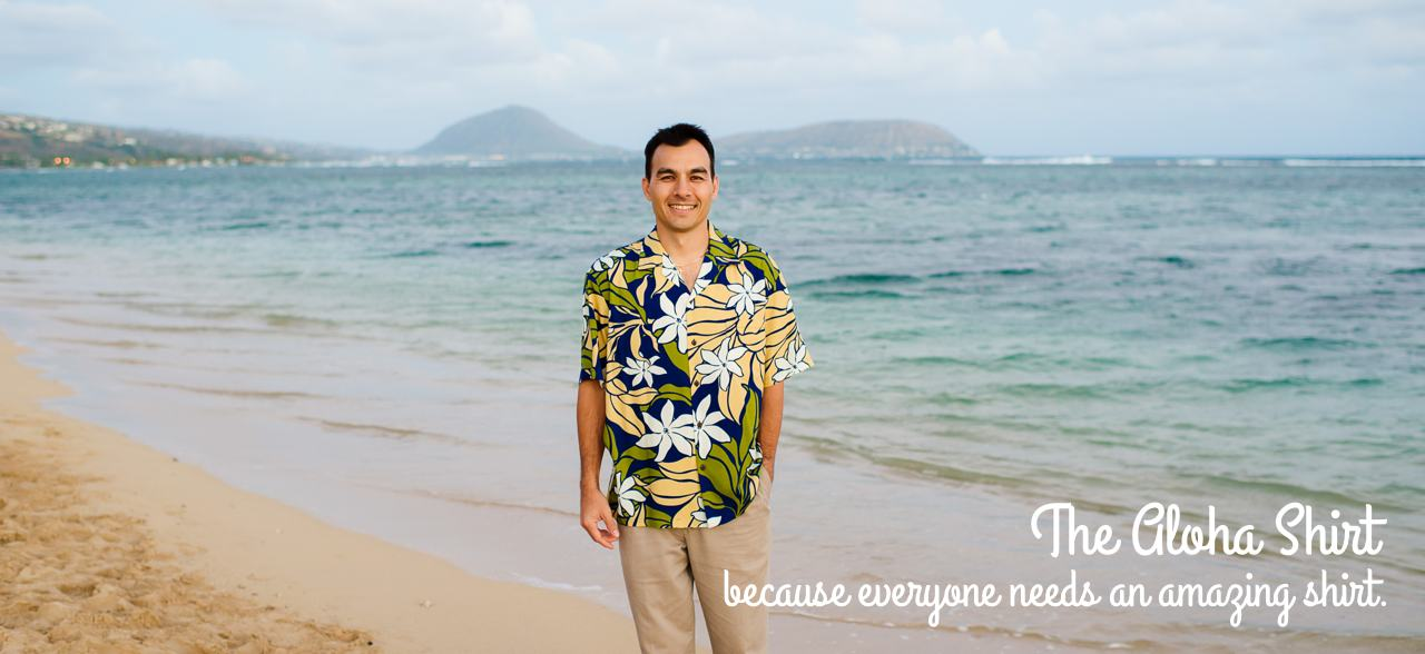 Hawaiian Aloha Rayon Shirt for Men