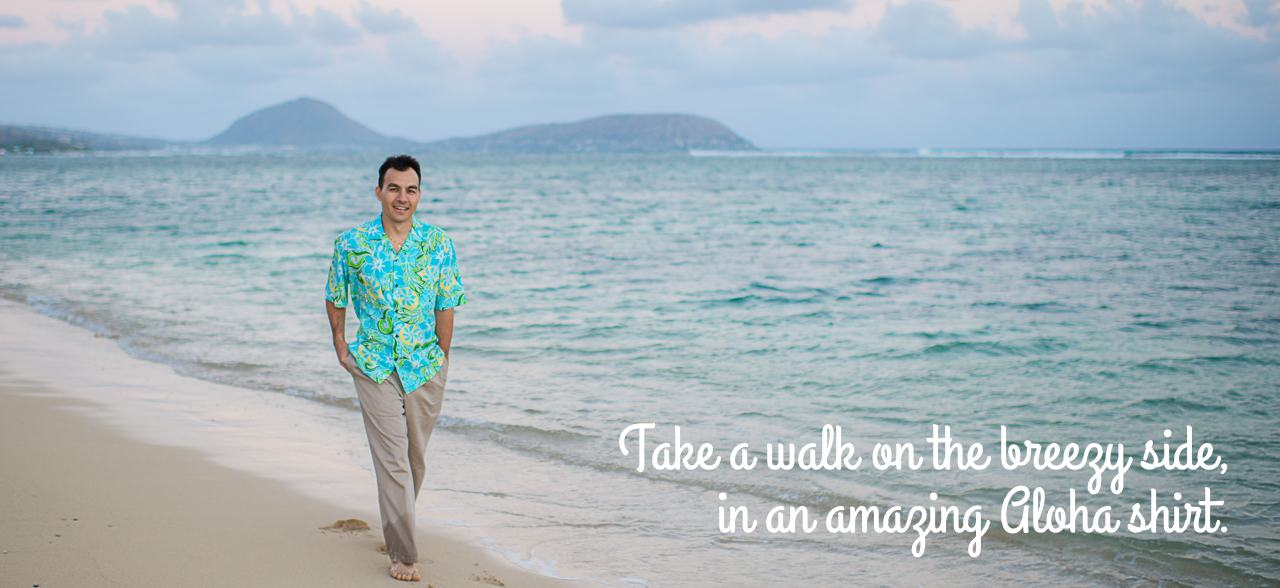 Men Hawaiian Shirts -- Made in Hawaii