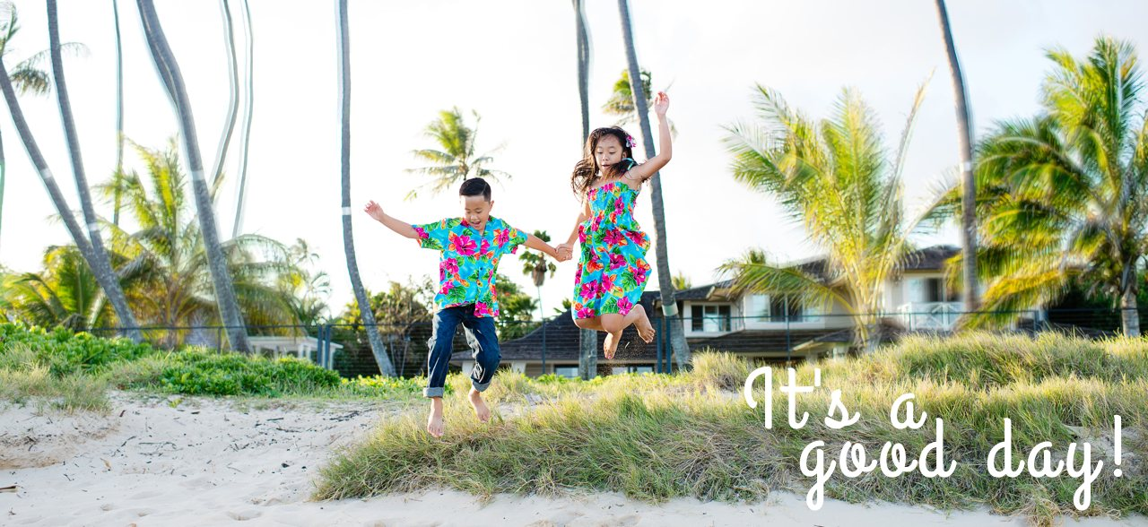 Kids Hawaiian Clothing - Hawaiian Shirts for Boys, Floral Dresses for Girls - Children Wear