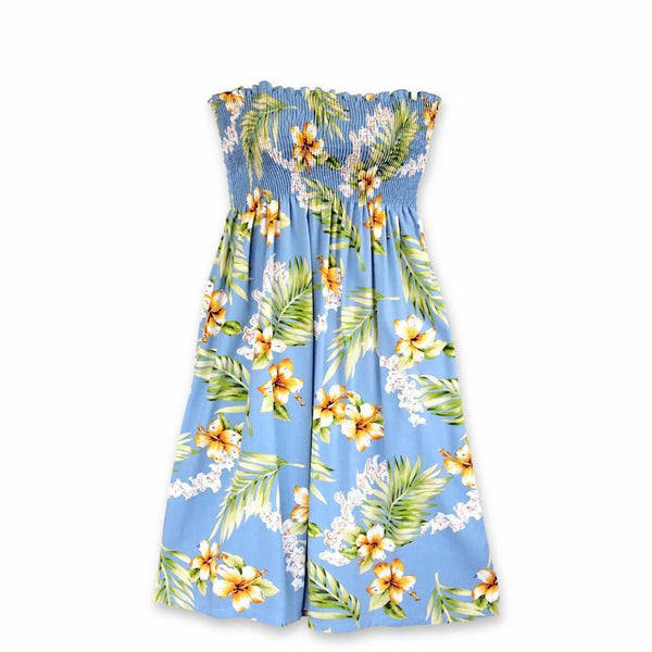 Atoll Blue Moonkiss Hawaiian Dress - Womens Dress