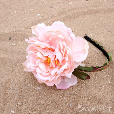 Baby Pink Island Girl Headband - Baby Pink - Hair Accessories