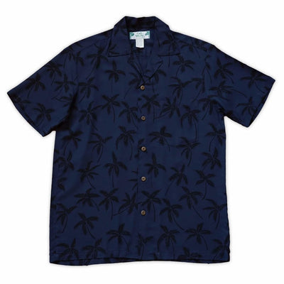 Balmy Black Hawaiian Rayon Shirt - s / Black - Men's Shirts