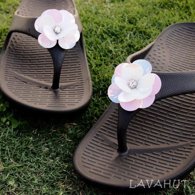 Black Flip Rock Star - Pali Hawaii Sandals - Hawaiian Sandals