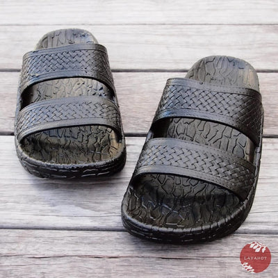 Black Jon Jandals® - Pali Hawaii - Hawaiian Sandals