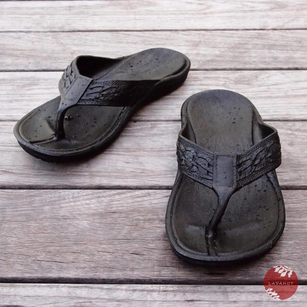 Black Shaka - Pali Hawaii Thong Sandals - Hawaiian Sandals