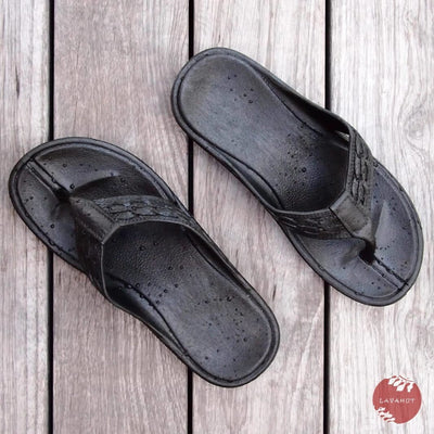 Black Shaka™ - Pali Hawaii Thong Sandals - Hawaiian Sandals