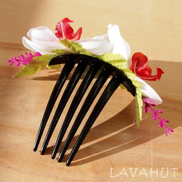 Blush Orchid Joy Hawaiian Hair Comb - Hair Accessories