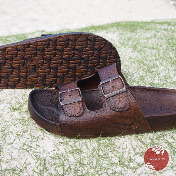 Brown Buckle - Pali Hawaii Sandals - Hawaiian Sandals