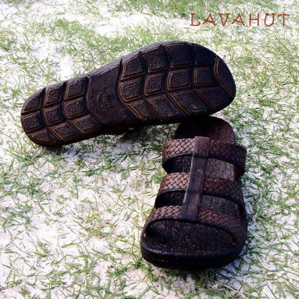 Brown Jaya Jandals® - Pali Hawaii - Hawaiian Sandals