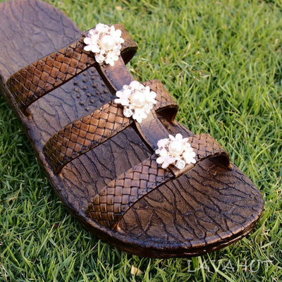 Brown Jaya Pearl Jandals® - Pali Hawaii - Hawaiian Sandals