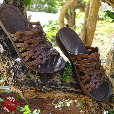 Brown Tia™ - Pali Hawaii Sandals - Hawaiian Sandals