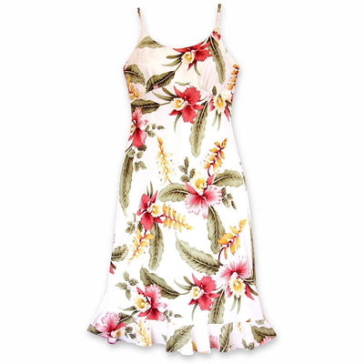 Cloud Kamalii Hawaiian Dress - s / Cream - Women's Dress