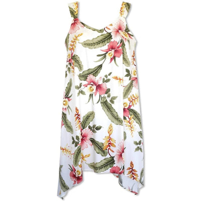 Cloud Swing Hawaiian Dress - Women's Dress