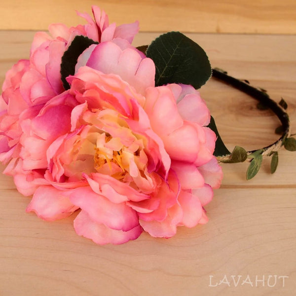 Cotton Candy Wild Child Flower Headband - Hair Accessories