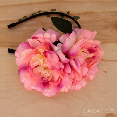 Cotton Candy Wild Child Flower Headband - Pink - Hair Accessories