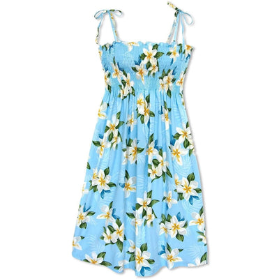 Escape Blue Moonkiss Hawaiian Dress - One Size / Blue - Women's Dress