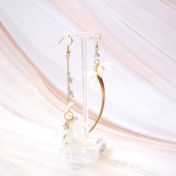 Fresh Asymmetric Hook Earrings - Earrings