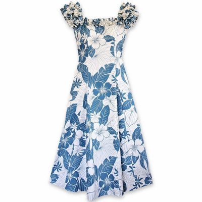 Haven Blue Leilani Hawaiian Muumuu Dress - Women's Dress