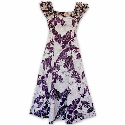 Haven Purple Leilani Hawaiian Muumuu Dress - s / Purple - Women's Dress