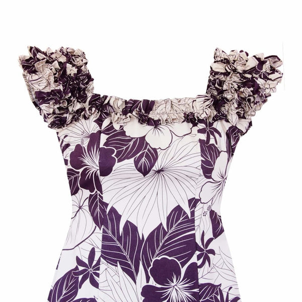 Haven Purple Leilani Hawaiian Muumuu Dress - Womens Dress