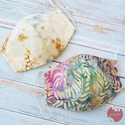 Hawaiian Face Mask • Cream Sandy Beach - Cream - Face Mask