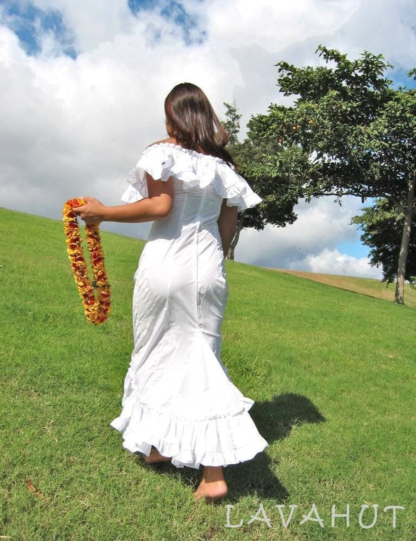 Hoaloha Hawaiian Wedding Dress - Womens Dress