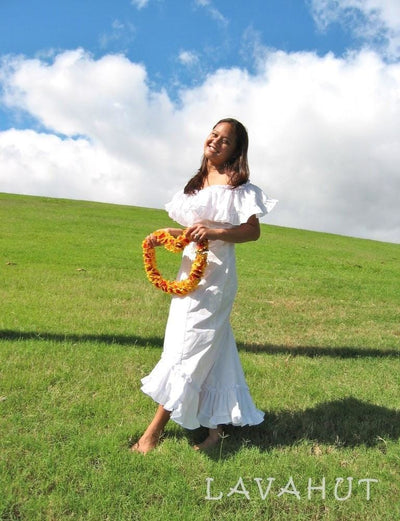 Hoaloha Hawaiian Wedding Dress - Women's Dress