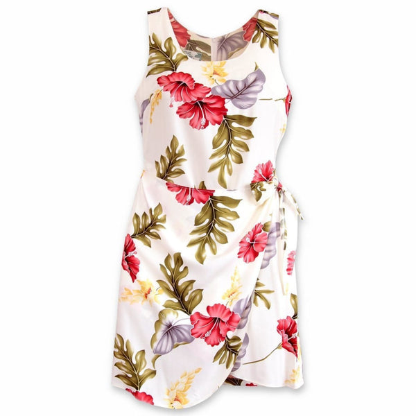 Honeymoon Cream Honi Hawaiian Dress - Womens Dress