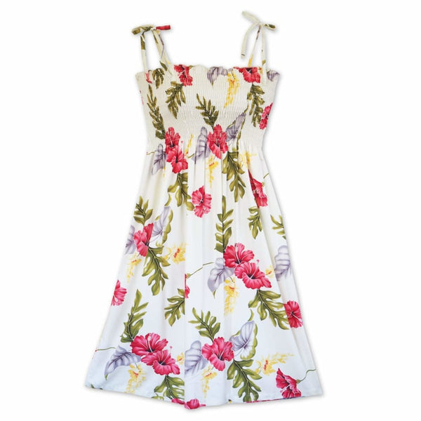Honeymoon Cream Moonkiss Hawaiian Dress - Womens Dress
