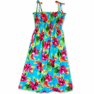 Hoopla Blue Moonkiss Hawaiian Dress - One Size / Blue - Womens Dress