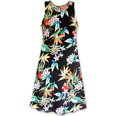 Jungle Black Rhythm Hawaiian Dress - Women's Dress