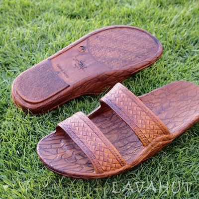 Light Brown Classic Jandals® - Pali Hawaii Sandals - 5 / Light Brown - Hawaiian Sandals