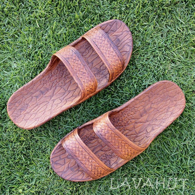 Light Brown Classic Jandals® - Pali Hawaii Sandals - Hawaiian Sandals