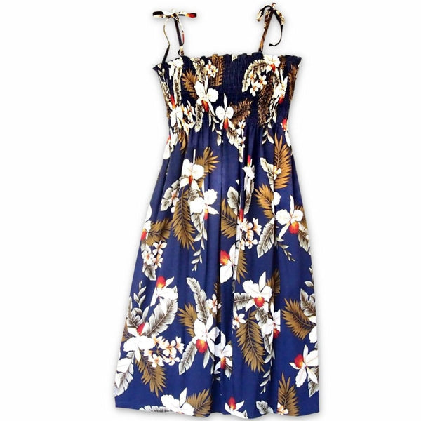 Majestic Blue Moonkiss Hawaiian Dress - Womens Dress