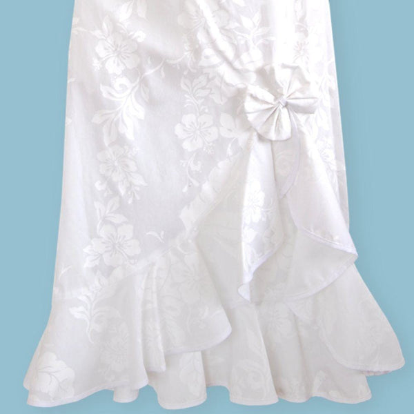 Makamae Naniloa Hawaiian Wedding Dress - Womens Dress