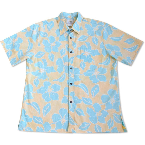Mellow Yellow Hawaiian Reverse Shirt - Mens Shirts
