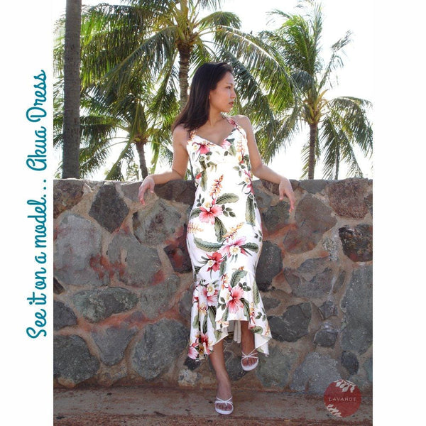 Mountain Green Akua Hawaiian Dress - Womens Dress