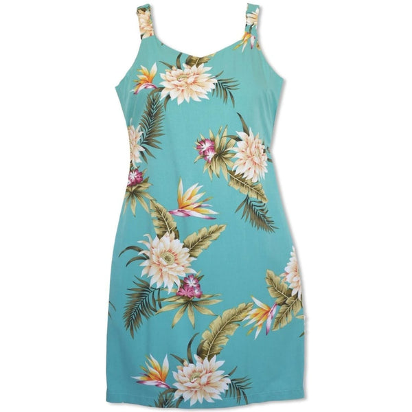 Mountain Green Kauai Hawaiian Dress - Womens Dress