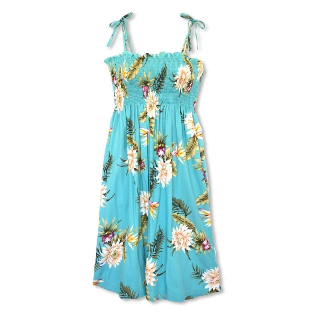 Mountain Green Moonkiss Hawaiian Dress - Womens Dress