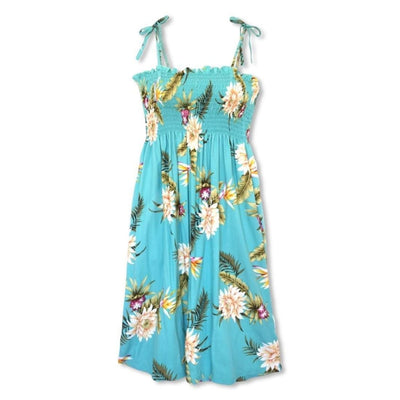 Mountain Green Moonkiss Hawaiian Dress - One Size / Green - Women's Dress