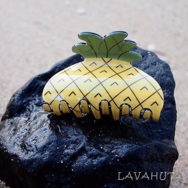Pineapple Fun Hawaiian Hair Claw - Hair Accessories