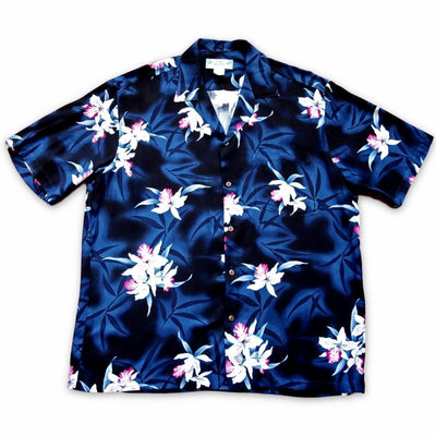 Poipu Grey Hawaiian Rayon Shirt - s / Grey - Men's Shirts