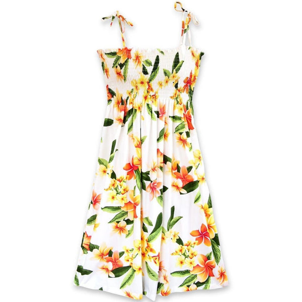 Rain White Moonkiss Hawaiian Dress - Womens Dress