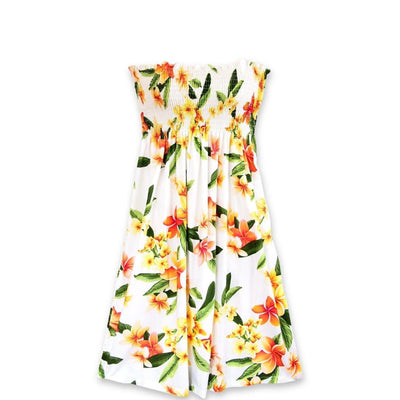 Rain White Moonkiss Hawaiian Dress - One Size / White - Women's Dress